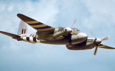 Giant 1/8 Scale British WW-II DeHavilland DH-98 Mosquito Twin Plans & Templates