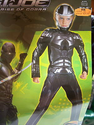 G.i. Joe Rise Of Cobra Duke Sz 7-8 Muscle Costume Gloves & Boot Covers