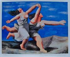 Pablo Picasso RUNNING ON THE BEACH Estate Signed Limited Edition Small Giclee