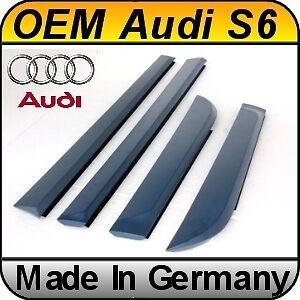 Audi A6/s6 C6/4f (04-10) Door Blades Fins Set 4 Pcs