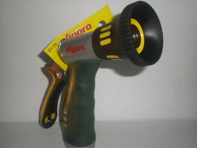 Melnor Vigoro Fireman Aqua Gun Metal Nozzle T202