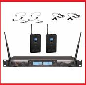 UHF Wireless Lavalier Microphone System