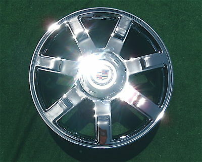 1 new 2009 cadillac escalade chrome 22 inch wheel oem factory specification 5309. Black Bedroom Furniture Sets. Home Design Ideas