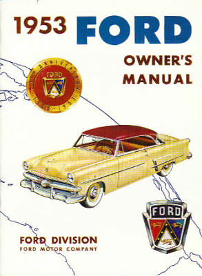 1953 Ford Owner's Manual