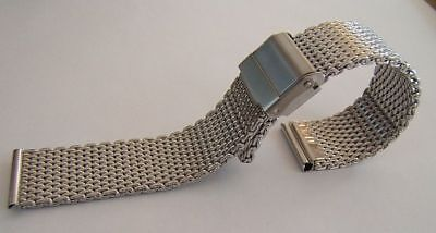Bracelet Acier Mesh Pour Omega Seamaster 300 Taille 20