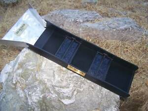 E-Z SLUICE BOX WITH FLARE OVER 25,000 SOLD IMPROVED GOLD PROSPECTING