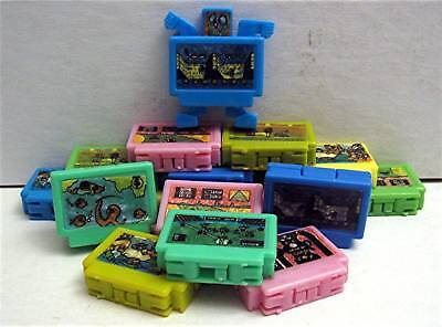 12 Old Transformers Tv Game Robots Vending Machine Toys