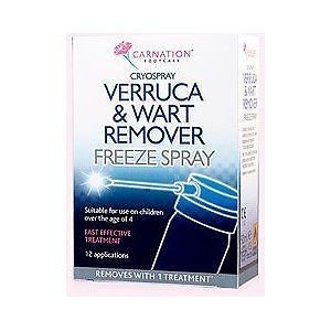 Carnation Verruca & Wart Remover Freeze Spray