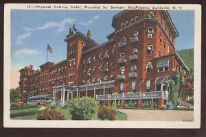 Image Is Loading Postcard Dansville Ny Physical Culture Hotel 1920 039