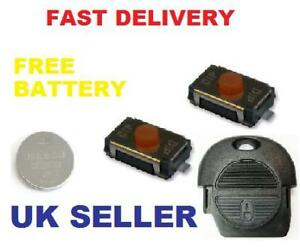 Nissan-Remote-key-fob-repair-kit-Micro-switch-battery
