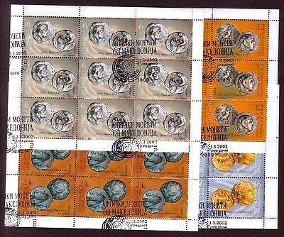 Madzedonien 245/48 o KB Münzen (1313)