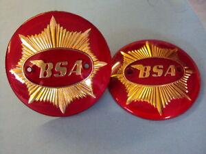 BSA-TANK-BADGES-4-GOLDSTAR-ROCKET-GOLDSTAR-1-PAIR