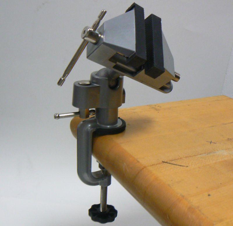 Vises Bench Swivel W/ Clamp 3 Tabletop Vise Tilt Rotates 360° Work Bench Tool