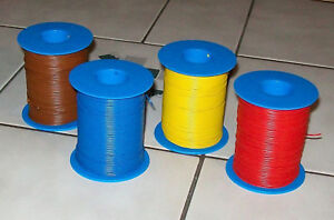 4-x-100-METROS-HILO-Cable-1m-para-ferrocarriles-modelo-0-14mm
