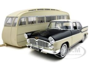 simca chambord with caravan henon 1955 trailer 1 18. Black Bedroom Furniture Sets. Home Design Ideas