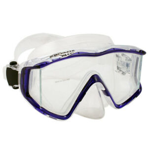NEW-Panoramic-Tri-View-Mask-Scuba-Dive-Snorkeling-Gear