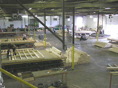 Precut 2x6 wall panels floor trusses rafters for garage for Garage apartment packages