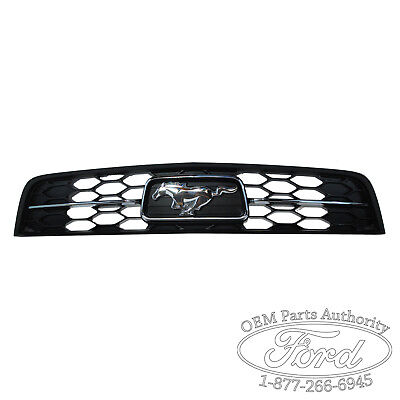 2010-2011 Ford Mustang Pony Grill Chrome V6 on Sale