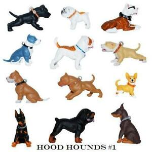 HOOD HOUNDS Series 1 Figures - Set of 12. HOMIES NEW