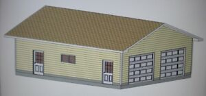 26 x 32 garage shop plans materials list blueprints for Material list for garage