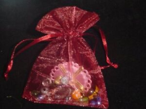 9x12 cm-24 colours Premium Organza Wedding Favor bags