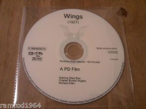 WINGS (1927) Starring Clara Bow, Charles 'Buddy' Rogers