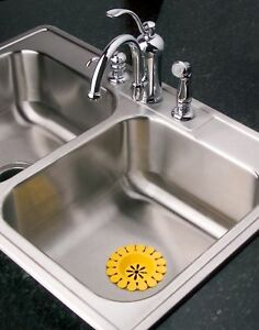 Image Is Loading Sink Daisy Scented Sink Strainer 2pk