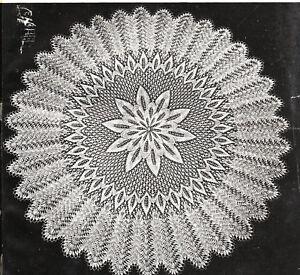 Vintage knitting pattern-lace baby christening shawl on CD ...