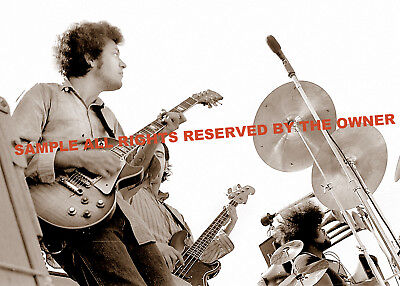 MIKE BLOOMFIELD LIVE  ELECTRIC FLAG 1968 SET OF 3 PHOTO on Rummage