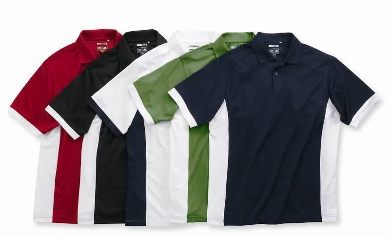 f95e2efb ADIDAS GOLF Mens S-XL 2XL 3XL ClimaCool Colorblock Dri Fit Polo Sport Shirts  A28