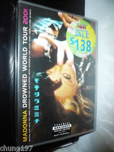 MADONNA-DROWNED-WORLD-TOUR-2001-GERMANY-DVD-SEALED