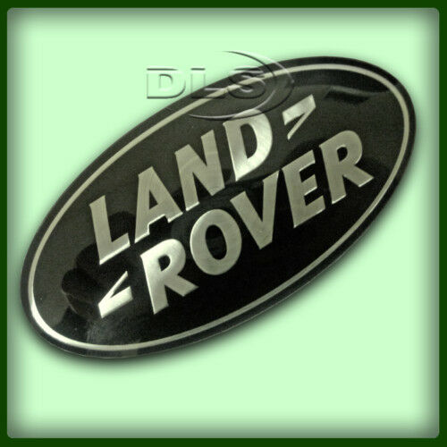 RANGE ROVER L322 BLACK AND SILVER FRONT GRILLE BADGE OE