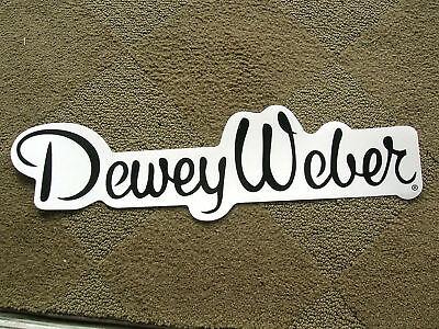 Dewey Weber Surfing Surfer Surfboard Huge Surf Sticker Longboard Script 60 Style