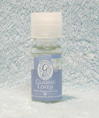 Greenleaf Fragrance Oil For Warmer Clean Classic Linen