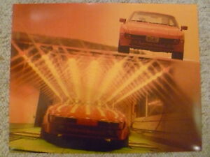1987-Porsche-944-Coupe-Showroom-Advertising-Sales-Poster-RARE-Awesome-L-K