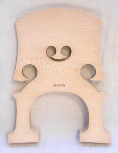DRESDEN GERMANY FINE QUALITY MAPLE BASS BRIDGE 3/4-NEW!