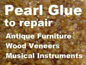Pearl Glue - Antique Wood furniture veneer adhesive 50g