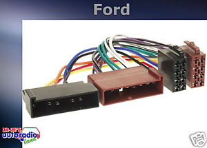 = radio cable de conexión adaptador ford f250 1114-02