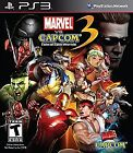 Marvel Vs. Capcom 3: Fate of Two Worlds  (Sony Playstation 3, 2011) (2011)