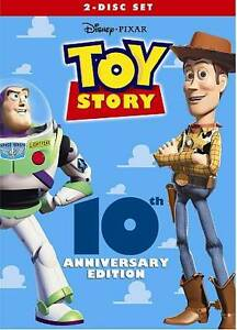 Toy Story (DVD, 2005, 2-Disc Set) New w/ Slipcover FREE Shipping!