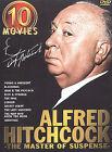 Alfred Hitchcock - Master of Suspense 10-Movie Set (DVD, 2003, 5-Disc Set)