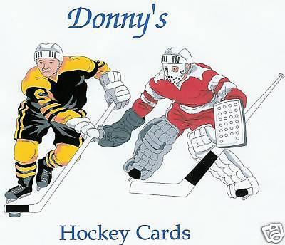 Donny's Hockey Cards
