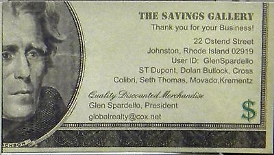 THE SAVINGS GALLERY
