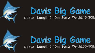 Davis Saltwater Fishing Rods