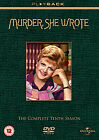 Murder She Wrote - Series 10 - Complete (DVD, 2009, 5-Disc Set)