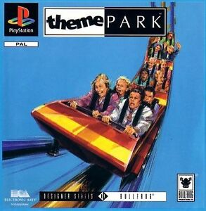 Theme-Park-for-Sony-PlayStation-1-and-3-Game-Manual