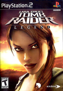 Lara Croft Tomb Raider Legend Sony PlayStation 2 PS2 PAL COMPLETE
