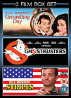 Groundhog Day/Ghostbusters/Stripes (DVD, 2009, 3-Disc Set, Box Set)