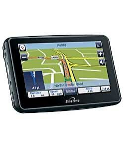 BINATONE F430 UK AND ROI 4.3IN SAT NAV. HALF PRICE SALE @ £29.99-RRP £59.99,