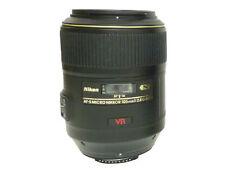 Nikon NIKKOR AF-S Auto Focus Camera Lenses 105mm Focal